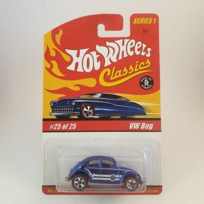 HOT WHEELS VW BUG BLUE