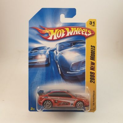HOT WHEELS '08 FORD FOCUS RED