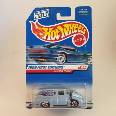 HOT WHEELS 1999 FIRST EDITIONS '56 FORD TRUCK #927