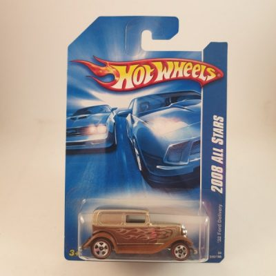 HOT WHEELS '32 FORD DELIVERY BROWN