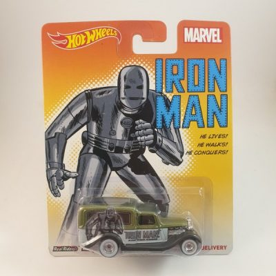 HOT WHEELS '34 DODGE DELIVERY IRON MAN