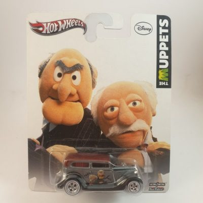 HOT WHEELS '34 FORD SEDAN DELIVERY THE MUPPETS