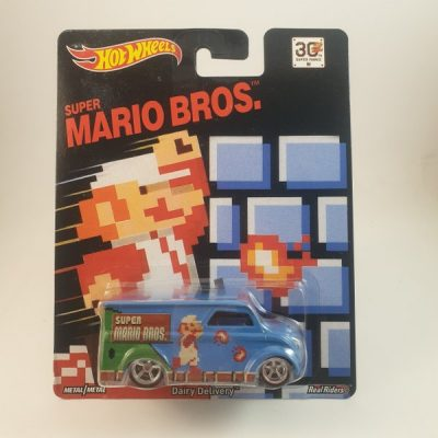 HOT WHEELS DAIRY DELIVERY SUPER MARIO BROS