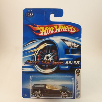 HOT WHEELS FERRARI F430 SPIDER #033