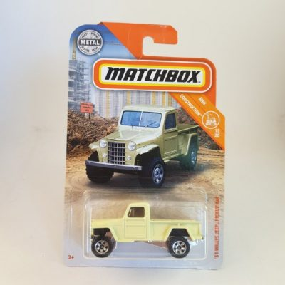 MATCHBOX '51 WILLY'S JEEP PICKUP 4X4