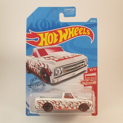 HOT WHEELS '67 CHEVY C10 RED EDITION