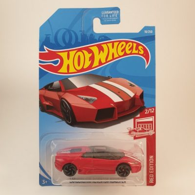 HOT WHEELS LAMBORGHINI ROADSTER RED EDITION