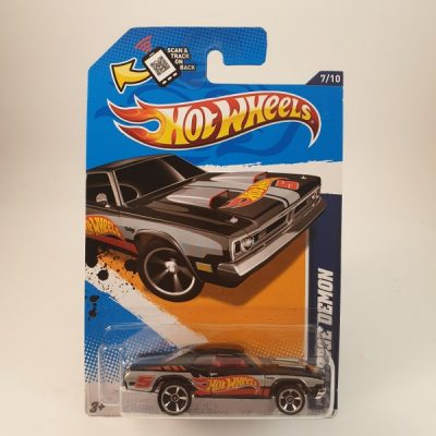 HOT WHEELS '71 DODGE DEMON BLACK
