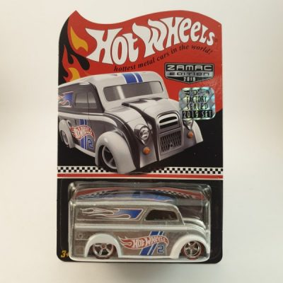 HOT WHEELS DAIRY DELIVERY ZAMAC EDITION
