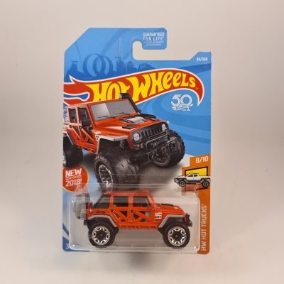 HOT WHEELS '17 JEEP WRANGLER RED