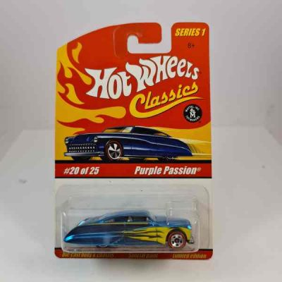 HOT WHEELS PURPLE PASSION BLUE