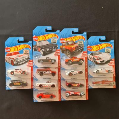 HOT WHEELS RED EDITION SET