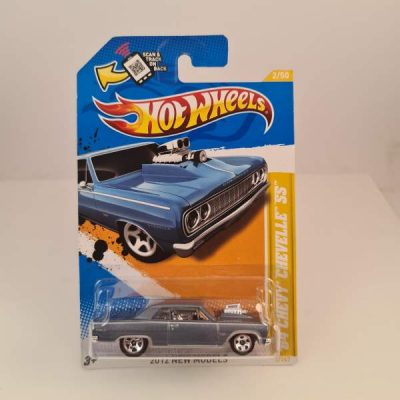 HOT WHEELS '64 CHEVY CHEVELLE SS LIGTH BLUE