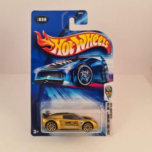 HOT WHEELS LOTUS SPORT ELISE GOLD #036
