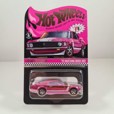 HOT WHEELS '70 MUSTANG BOSS 302