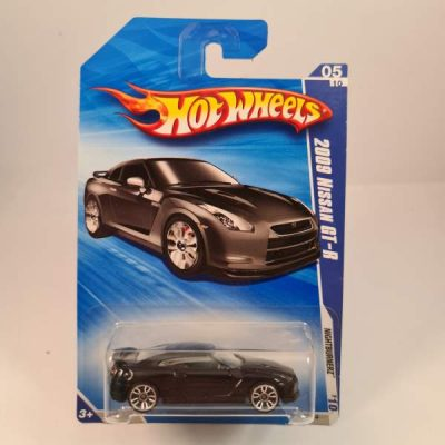 HOT WHEELS 2009 NISSAN GT-R
