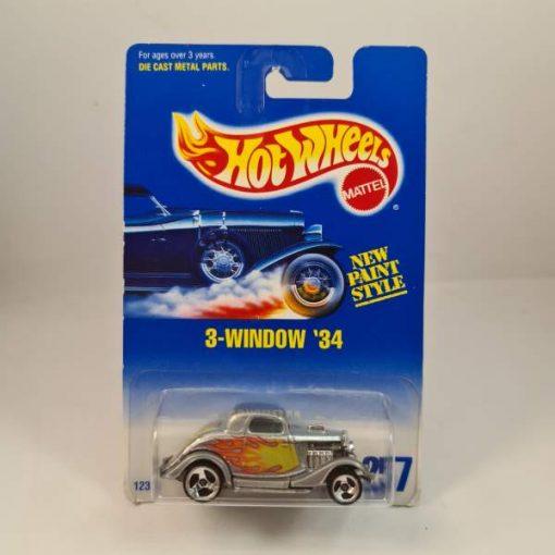 HOT WHEELS 3-WINDOW '34 #257