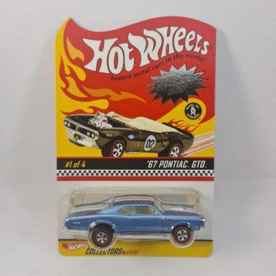 HOT WHEELS '67 PONTIAC GTO