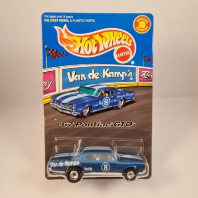 HOT WHEELS '67 PONTIAC GTO VAN DE KAMP'S