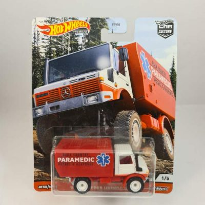 HOT WHEELS '88 MERCEDES UNIMOG U1300