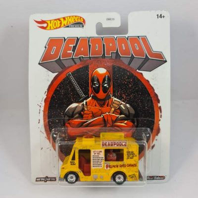 HOT WHEELS DEADPOOL CHIMICHANGA TRUCK