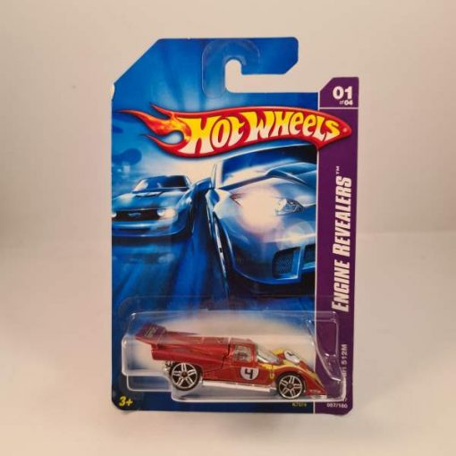HOT WHEELS FERRARI 512M RED