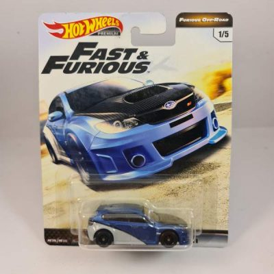 HOT WHEELS IMPREZA WRX STI