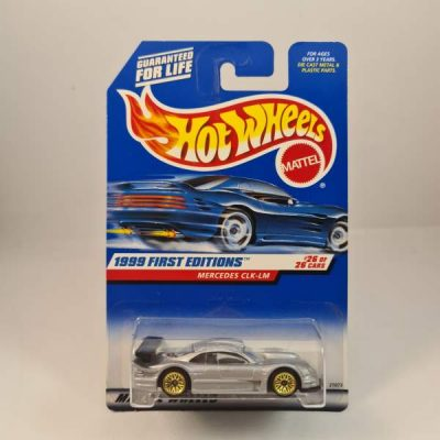HOT WHEELS MERCEDES CLK-LM