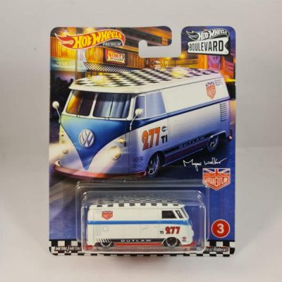 HOT WHEELS VOLKSWAGEN T1 PANEL BUS