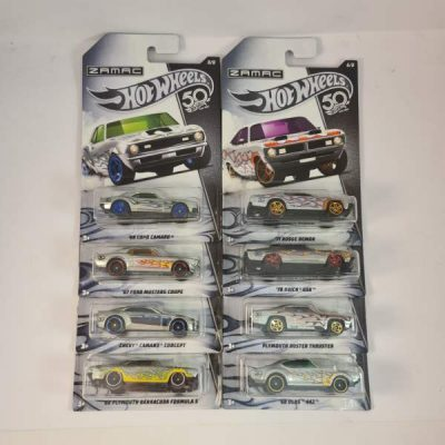 HOT WHEELS ZAMAC SET